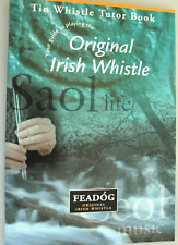 Tin Whistle Lessons Feadog Irish song book CD Whistle learn How to play  8071