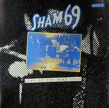 Sham 69(CD Album)Live At The Roxy Club-Receiver-RRCD133-UK-New & Sealed