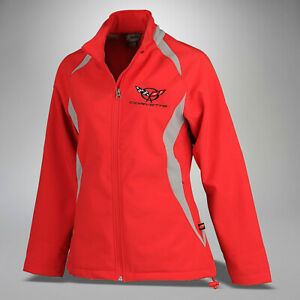 1997-2004 Corvette Women's Double Apex Jacket with Embroidered C5 Logo 698455