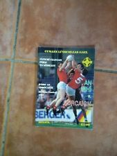 GAA 1987 All Ireland SFC final Meath v Cork official match programme
