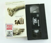 Saw VHS Cary Elwes Danny Glover Monica Potter Horror James Wan Hollywood Video