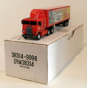 Matchbox Appx 1/50 Scale DYM38314 - McDonald's Freightliner Tractor Trailer
