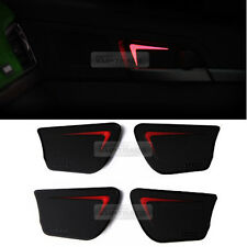 Red LED Door Catch Inside Handle Plate For KIA 2017-2018 Sportage QL