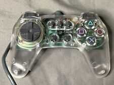 Clear Playstation One Ps1 Controler High Frequency