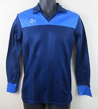 Vtg 80s PUMA Football Shirt Vintage Soccer Jersey Trikot Camisa #8 S Small
