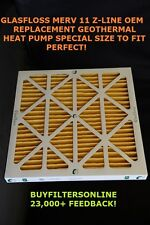 6 QTY 30X36X2 EXACT FIT GEOTHERMAL HEAT PUMP AIR FILTERS GLASFLOSS Z-LINE  MR11