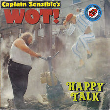 WOT! - HAPPY TALK # CAPTAIN SENSIBLE'S