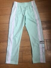 Girls Childs Kids Adidas Poppers Track Pant Dance Joggers Bottoms New 9/10 Y