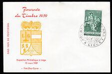 Belgien 1146 FDC, Tag der Briefmarke 1959