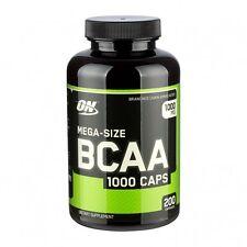 (12,72€/100gr) Optimum Nutrition BCAA 1000 (200 Kapseln)