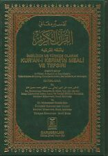 THE NOBLE QURAN IN TURKISH LANGUAGE WITH TAFSIR ENGLISH AND ARABIC
