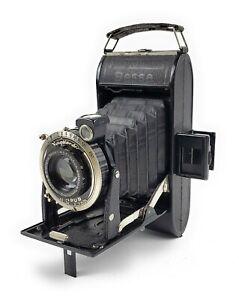 Voigtlander Bessa Folding Plate 6x9 Camera Compur  lens 1/4.5
