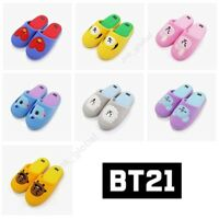 [BT21 X LINE FRIENDS ] BTS Slippers Official Goods RARE + Free Shipping