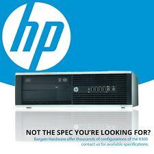HP Elite 8300 SFF Desktop PC, 4th Gen i5 Quad Core 8GB RAM Win 8 Pro DVDRW SSD