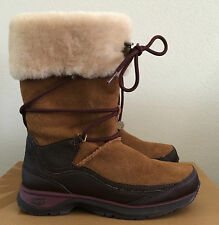 Womens Size 6.5 UGG Thinsulate Waterproof Orellen Brown Winter Boots (Youth 4.5)