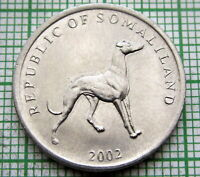 """SOMALILAND  2002  5 SHILLINGS /""""CHICKEN/"""" KM5  UNCIRCULATED COIN"""
