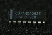 CD74HC4053E RCA High Speed CMOS Logic Analog Multiplexer/Demultiplexer