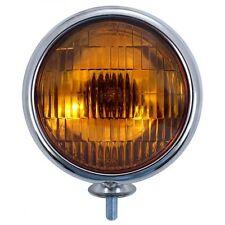 United Pacific Industries 12V Chrome Vintage Style Amber Fog Lights C364007