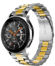 Supoix Watchband Gold Silver Link 46mm