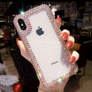3D Luxury Bling Diamond Rhinestone Case Cover for Samsung Note 20 Ultra S10 S20+