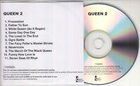 QUEEN Queen II 2011 UK watermarked & numbered 11-track promo test CD