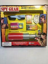 SPY GEAR Secret Mission Set 'Cookies Cola' Telescope, Etc. New Original Box