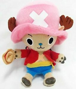 BANDAI ONE PIECE Tony Tony Chopper 15cm toy plush stuffed doll Shonen Jump 20