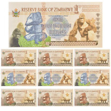 10pcs Zimbabwe One Yotalilion Dollars Paper Banknote Novelty Bill For Collection
