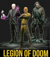 BATMAN THE LEGION OF DOOM MINIATURE GAME BY KNIGHTS MODELS