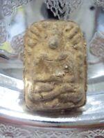 Phra Buddha LP Puek Wat Kingkaew Magic Old Talisman Thai Buddhist Amulet