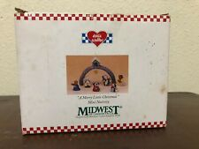 Eddie Walker Mini Nativity A Merry Little Christmas Animals Midwest 5 Piece Wb