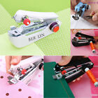 Portable Needlework Cordless Mini Hand-Held Clothes Fabrics Sewing Machine