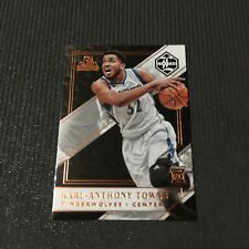 Karl Anthony Towns 2015-16 Panini Limited Rookie RC /80 #169 Timberwolves