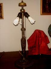 ARTS CRAFTS NOUVEAU ALL ORIGINAL WILKINSON BRONZE LAMP BASE HANDEL TIFFANY ERA