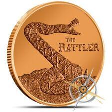 1 oz Copper Round - The Rattler