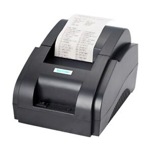 New Bluetooth Thermal Printer POS 58 USB & USB +Android And IOS 58mm Bill Mach
