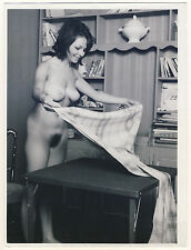 "Nude Woman at home/femme nue à la maison * likely A 60 S SERGE JACQUES photo ""L"""