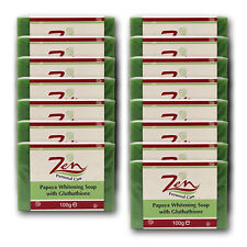 PAPAYA WHITENING SOAP GLUTHATHIONE Organic Pack15  Whiitens clears acne