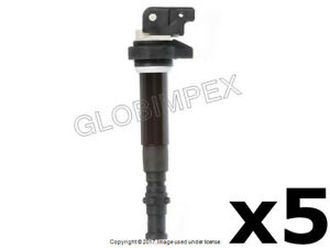 BMW M5 M6 (2006-2010) Ignition Coil with Spark Plug Connector 5 DELPHI +Warranty