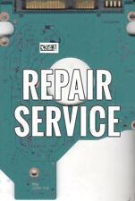 Repair For  MK5065GSX, A0/GJ205E, HDD2L33 M UL01 T, G002825A, Toshiba SATA 2.5 P