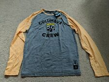 Adidas Columbus Crew MLS Long Sleeve Shirt - Size L, NWT