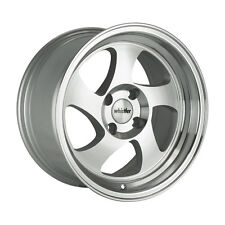 17x8 Whistler KR1 5x114.3 +30 Silver/Machined Face Wheels (Set of 4)