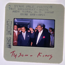 Mike Tyson & Don King Boxing Celebrities 35mm Transparency Slide 1990s