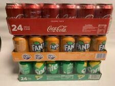 "Coca Cola, Fanta & Sprite je 24 x 0,33l Dose XXL-Paket ""72 dosen total"""