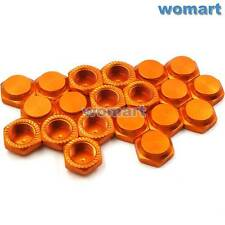 20pc RC P1.25mm 17mm Alum Wheel Hub Mount Nuts For Hobao HSP HPI OFNA FS 1/8 Car