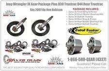 Jeep Wrangler JK 5.13 Gear Package Plus  D30 D44 Detroit Truetrac Fits Non Rub