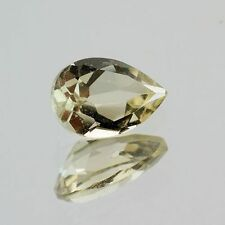 Yellow Beryl 8x5.2mm Pear .86ct (One of a Kind Stone)