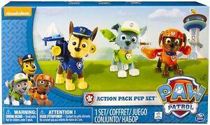 Nickelodeon Paw Patrol Action Pack Pups 3pk Figure Chase Rocky Zuma