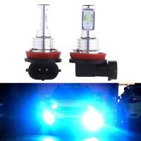 8000K Ice Blue 35W H11 H8 H9 H16 CREE LED Fog Light Conversion Kit PLUG AND PLAY