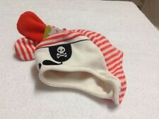 Jumping Beans Baby Boy's Fleece Hat & Mittens Set  Pirate Size 6- 18M NWT